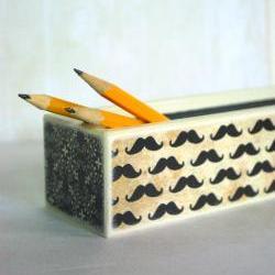 La Moustache Pencil Box