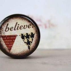 Believe Pill Box - Stocking Stuffer