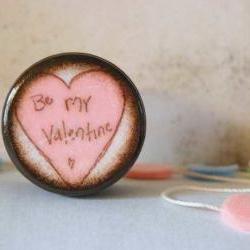 Be My Valentine Powder Box
